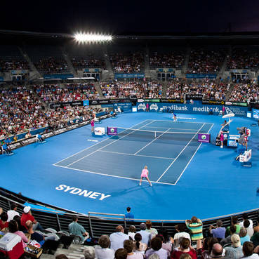 4 tickets to the Night Semi Finals of the Sydney International Tennis Tournament including access into Club 1885