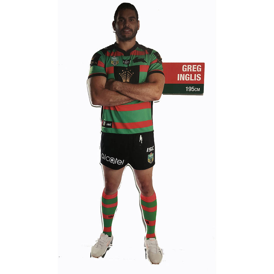 mainSigned Greg Inglis Life Size Corflute Cut Out in Home Kit0