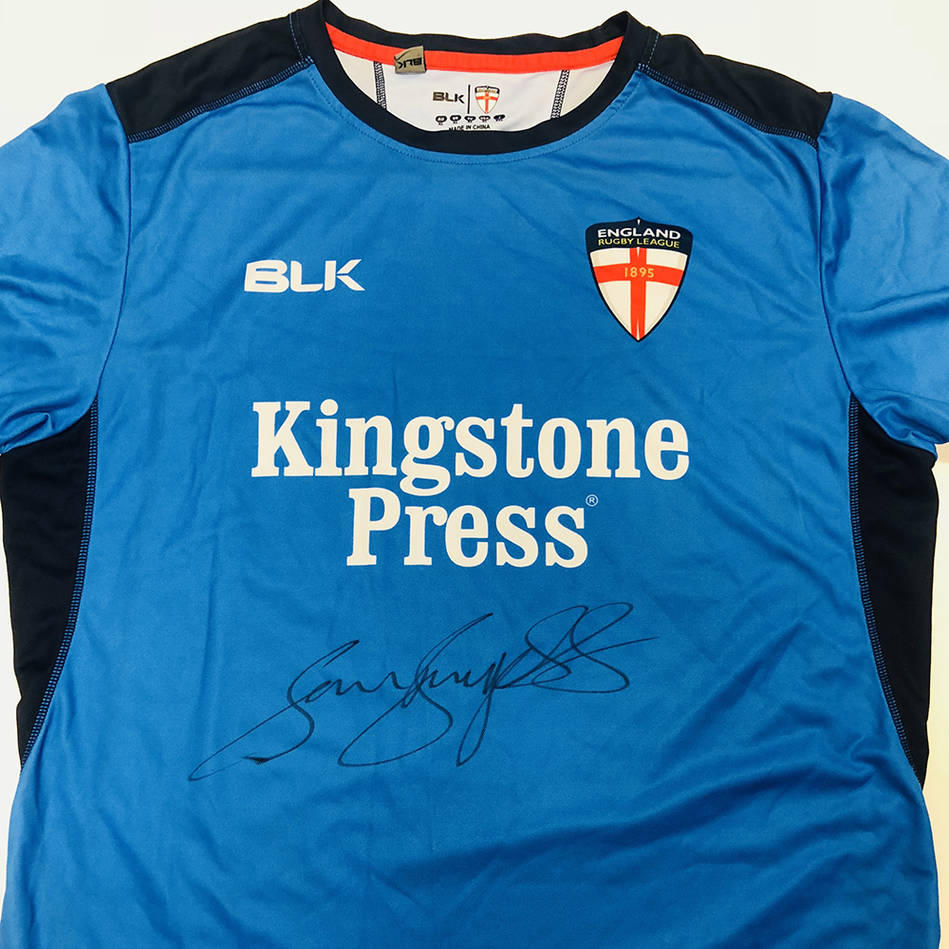 mainSam Burgess Signed 2016 England Rugby League Training Shirt0