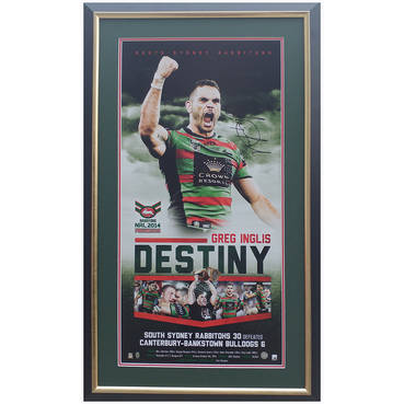 Greg Inglis signed Destiny Print Framed