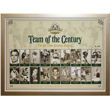 Team of the Century Signed Ron Coote