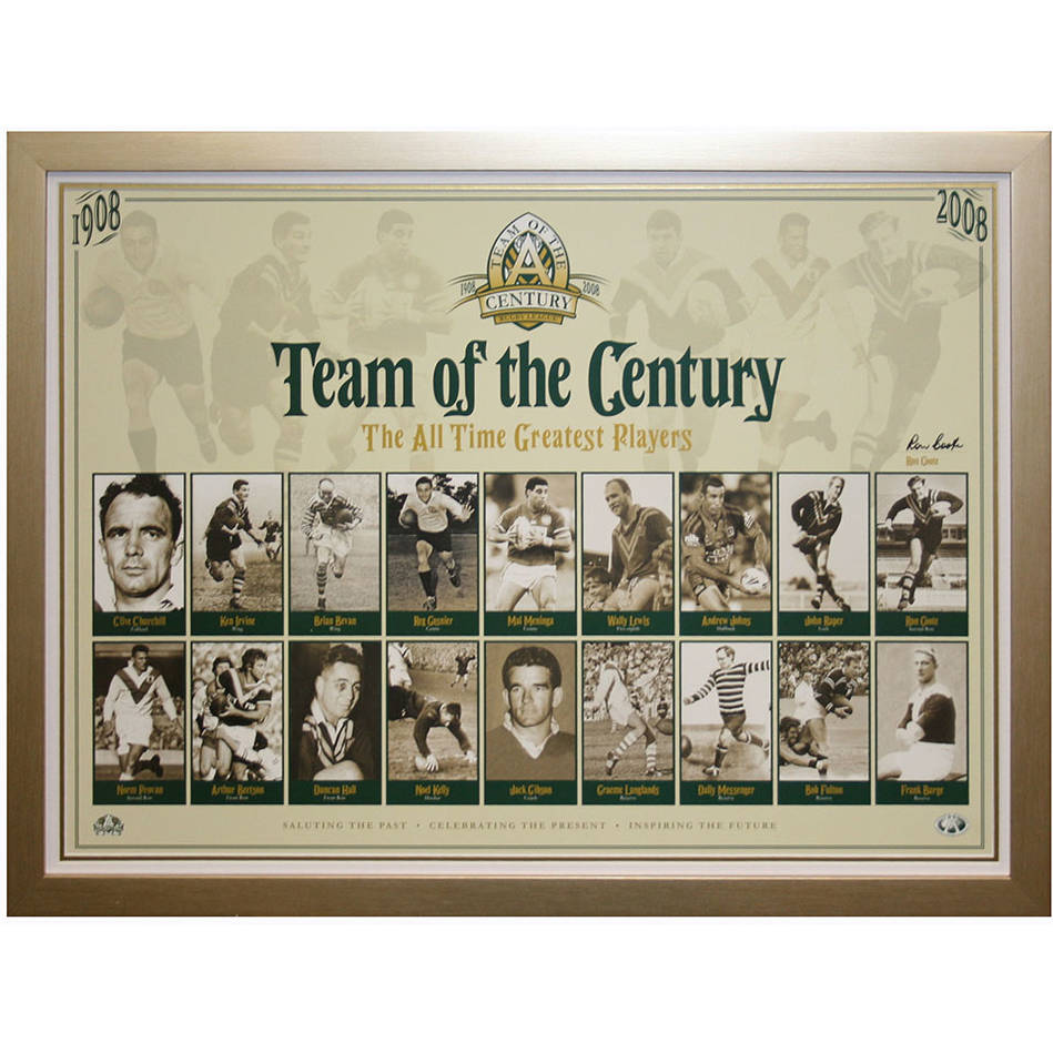 mainTeam of the Century Signed Ron Coote0