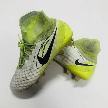 John Sutton Signed Match Worn Football Boots