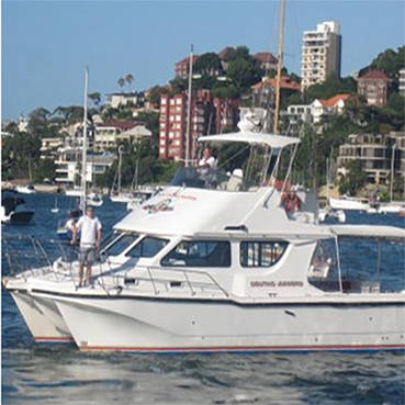 4 Hour Harbour Cruise for up to 26 guests  on The South Sydney Juniors Catamaran!