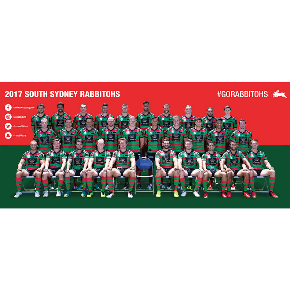 main2017 Rabbitohs Team Photo Wall0