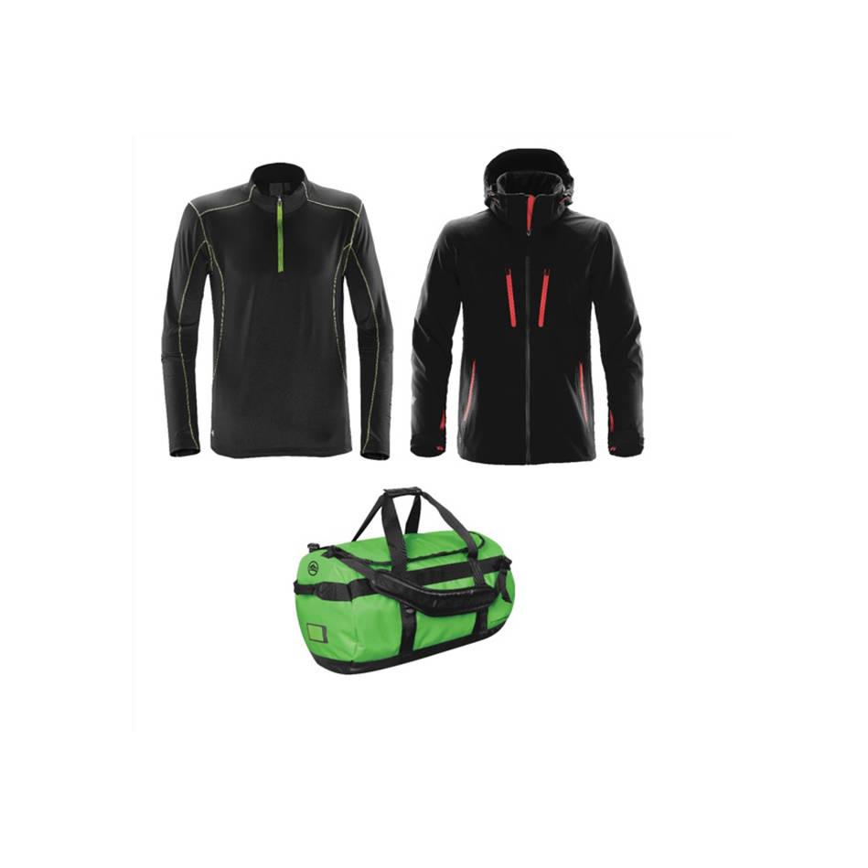 mainStormtech Package - Gear Bag, Softshell Jacket & Fleece Pullover0