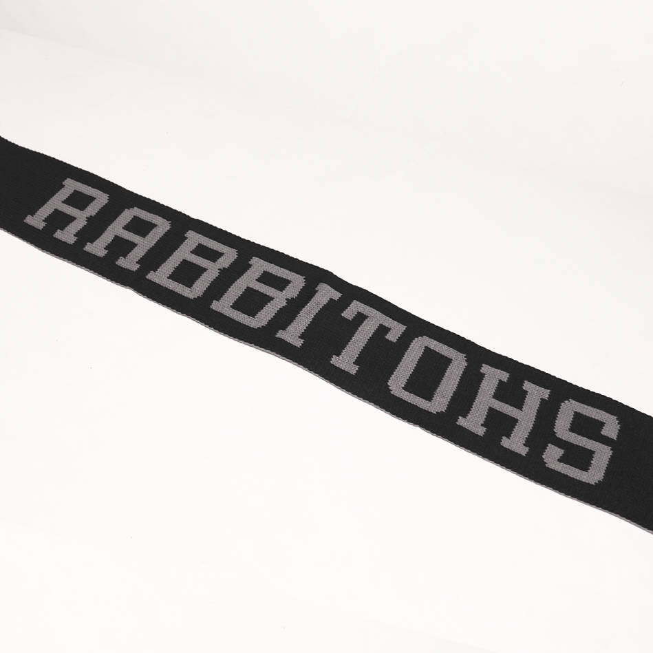 mainRabbitohs Black Scarf1