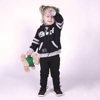2018 Infants Black/Grey Hoodie0