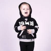 2018 Infants Black/Grey Hoodie2