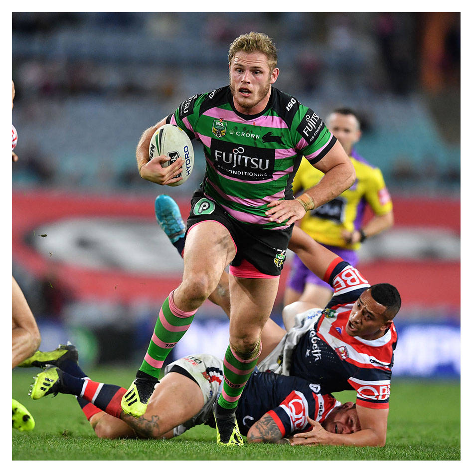 main#8 - Thomas Burgess - Signed & Worn Women In League Jersey0