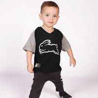 2018 Infants Black Logo Tee1