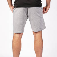Grey Classic Cotton Shorts1
