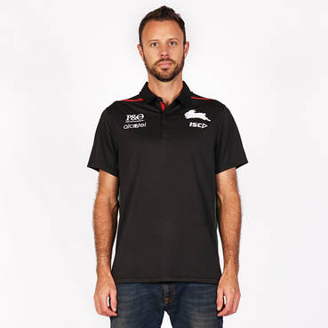 2019 Men's Black Official Polo