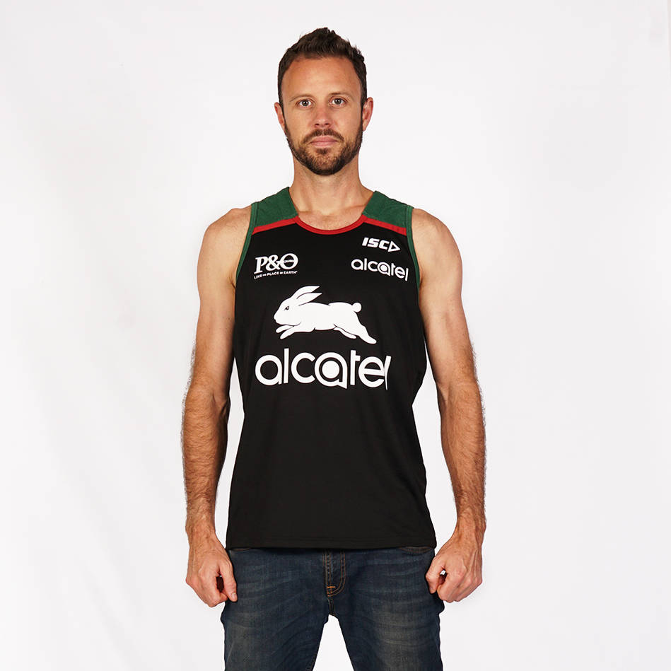 2019 Men's  Black Training Singlet0