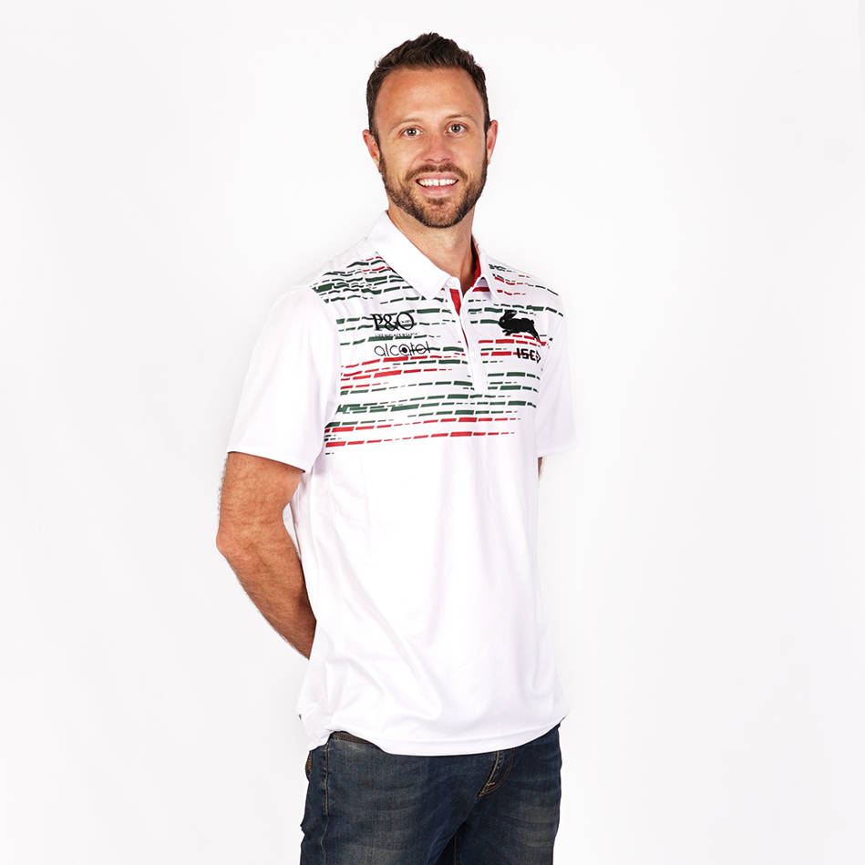 2019 Mens Official White  Polo0