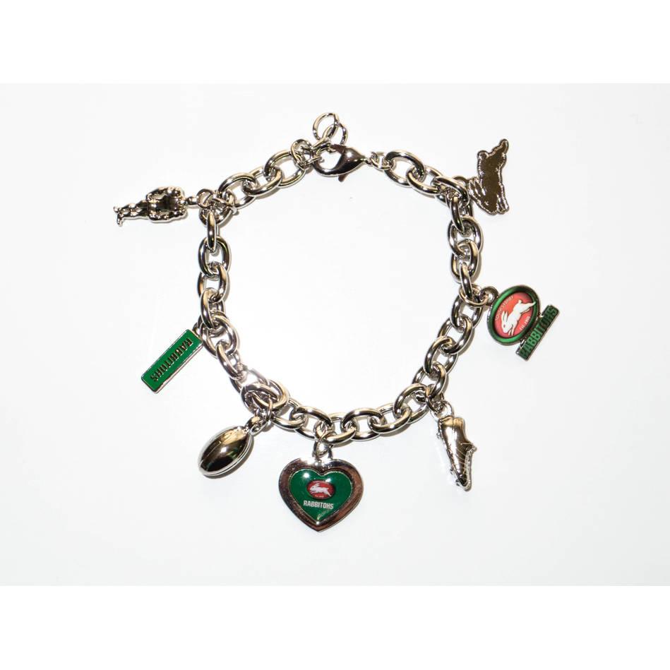 Rabbitohs Charm Bracelet0