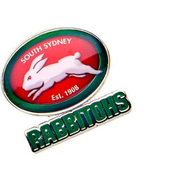Rabbitohs Logo Pin