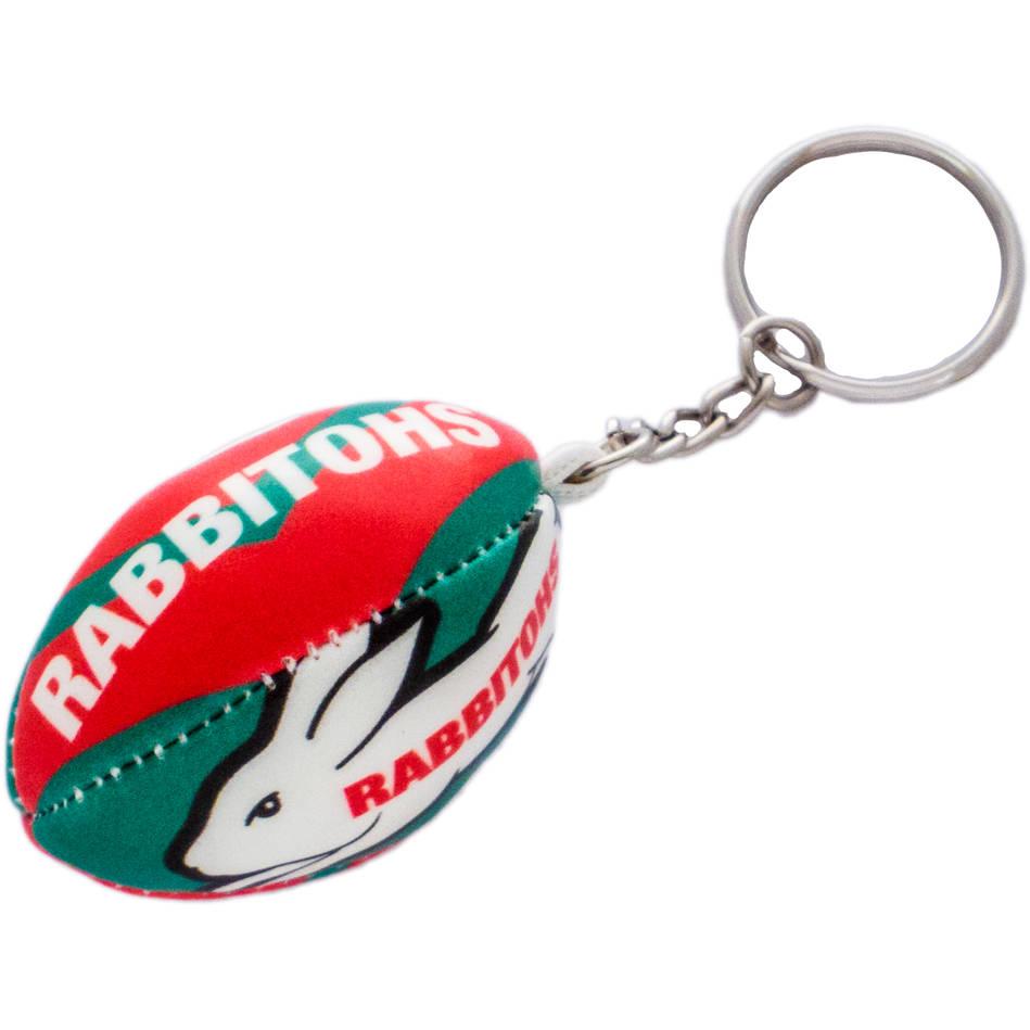 Rabbitohs Squashy Football Keyring0