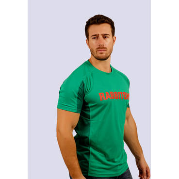 Mens Green  Performance Classic Tee