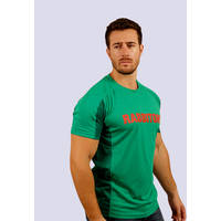 Mens Green  Performance Classic Tee0