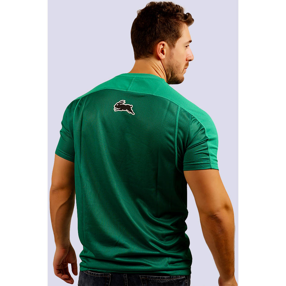 Mens Green  Performance Classic Tee1