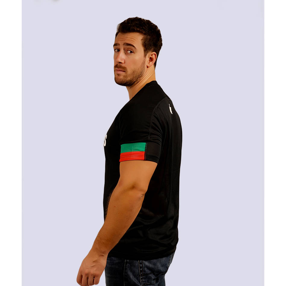 Mens Black Performance Classic Tee1