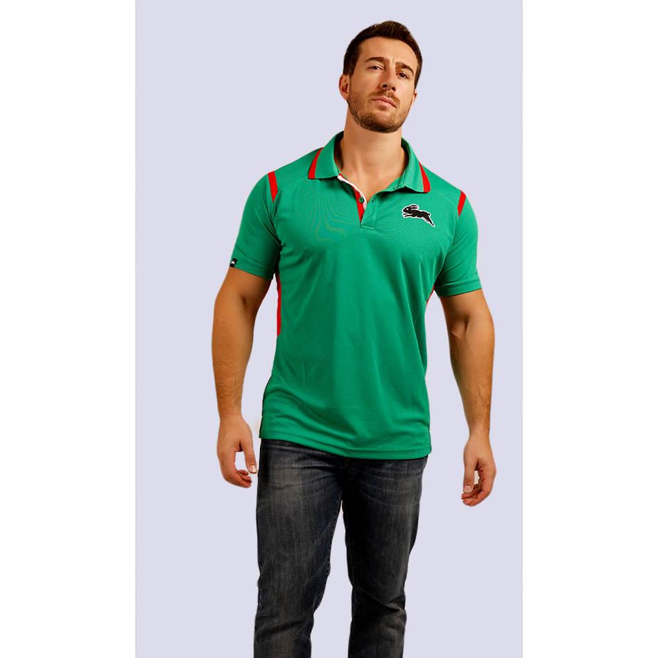 Mens Green Classic Polo1