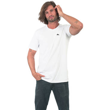 Mens White Clean Tee