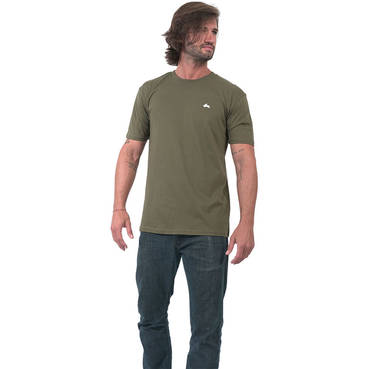 Mens Khaki Clean Tee