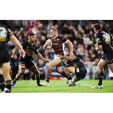 #8 George Burgess - Anzac Player Worn Jersey