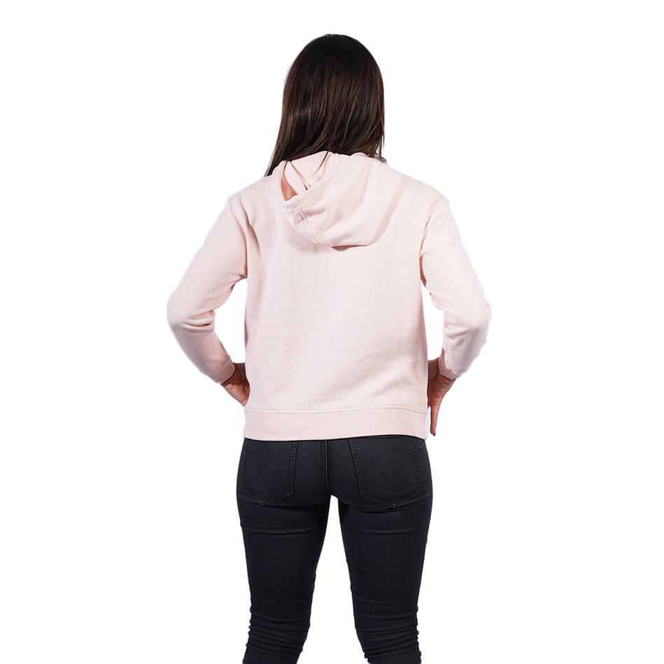 Ladies Pink Clean Hoody2