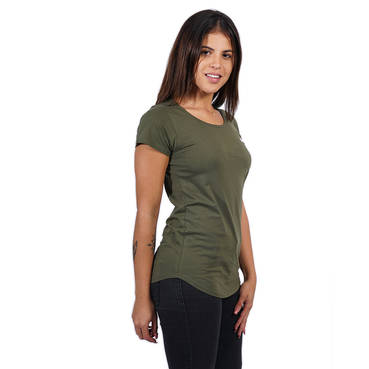 Ladies Clean Khaki Tee