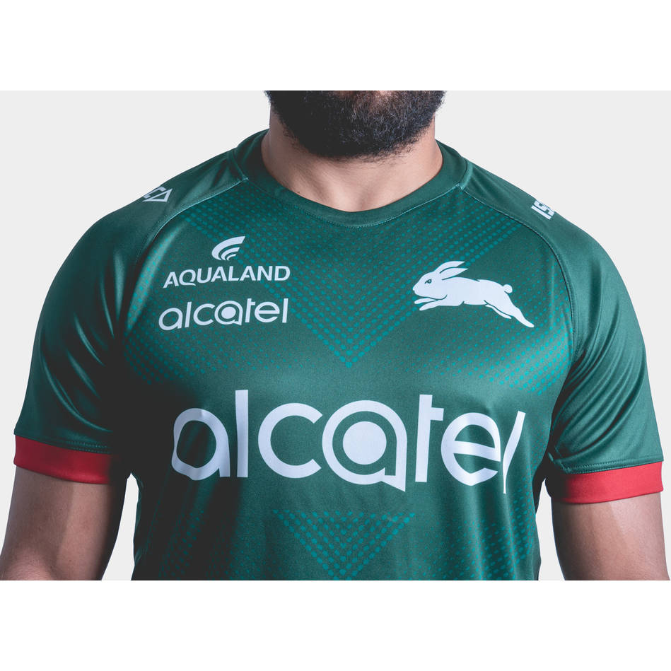 2019 Rabbitohs Green Training Jersey2
