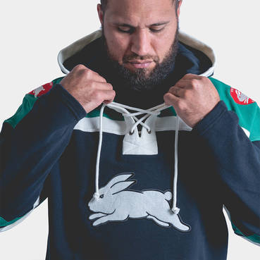 47 Brand Rabbitohs Lacer Hoody