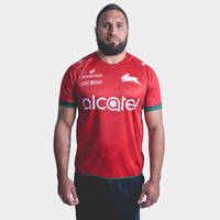 Rabbitohs 2019 Red Training Jersey0