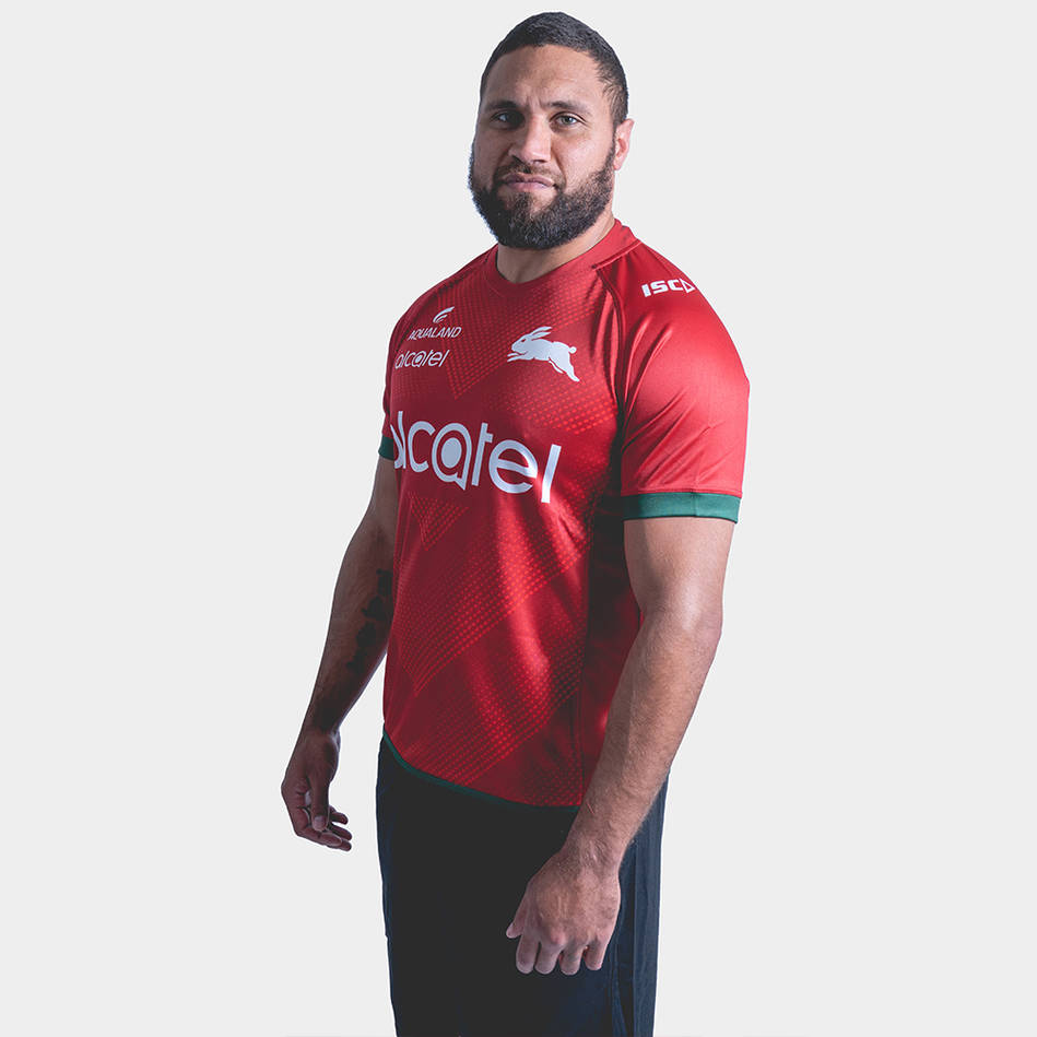 Rabbitohs 2019 Red Training Jersey3