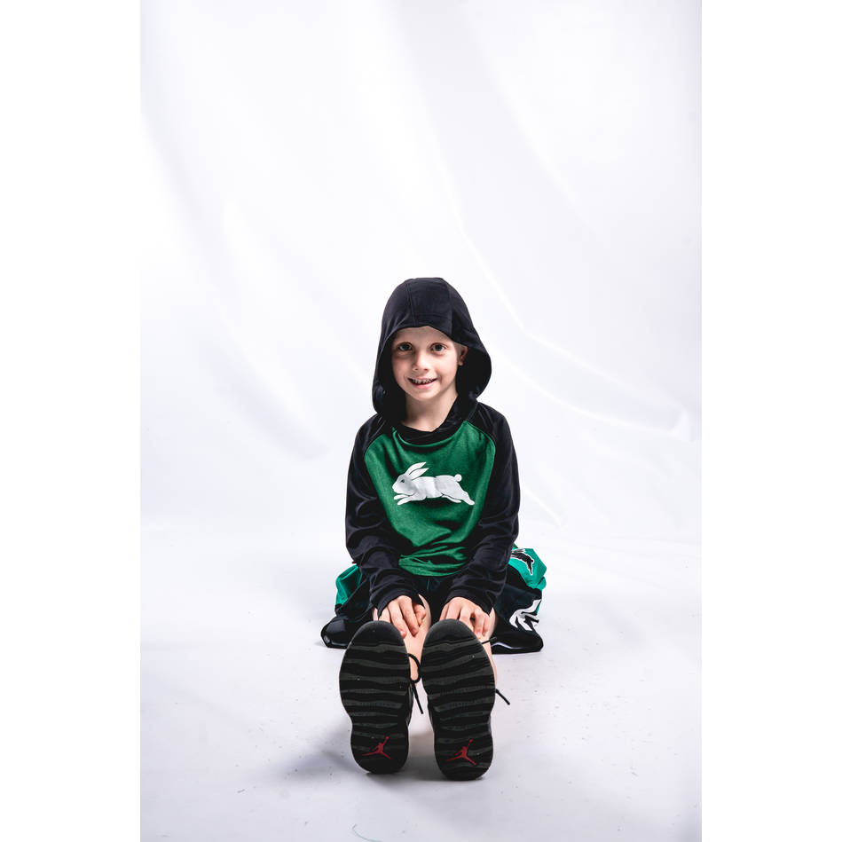 2019 Kids Hooded Warm Up Top1