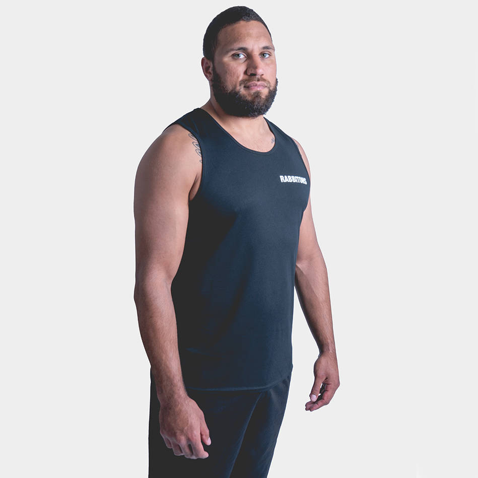 Rabbitohs Mens Performance Singlet3