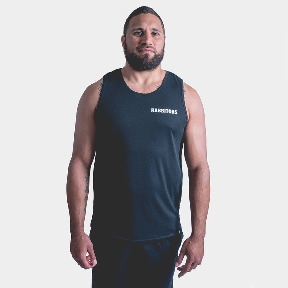 Rabbitohs Mens Performance Singlet0