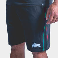 Rabbitohs Stripe Fleece Shorts0