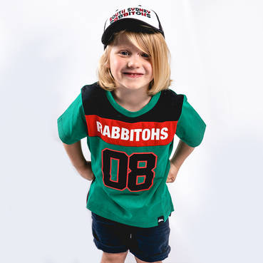 2019 Rabbitohs Green Training Jersey