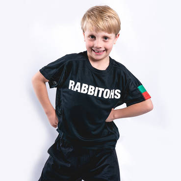 Kids Black Performance Tee