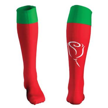 Limited Edition Junior Tatola Signed Rabbitohs CF Socks