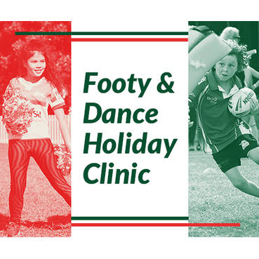 Mascot Junior Football and Dance School Holiday Clinic