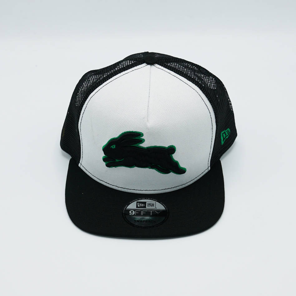 New Era Rabbitohs Green Outline Trucker Cap1