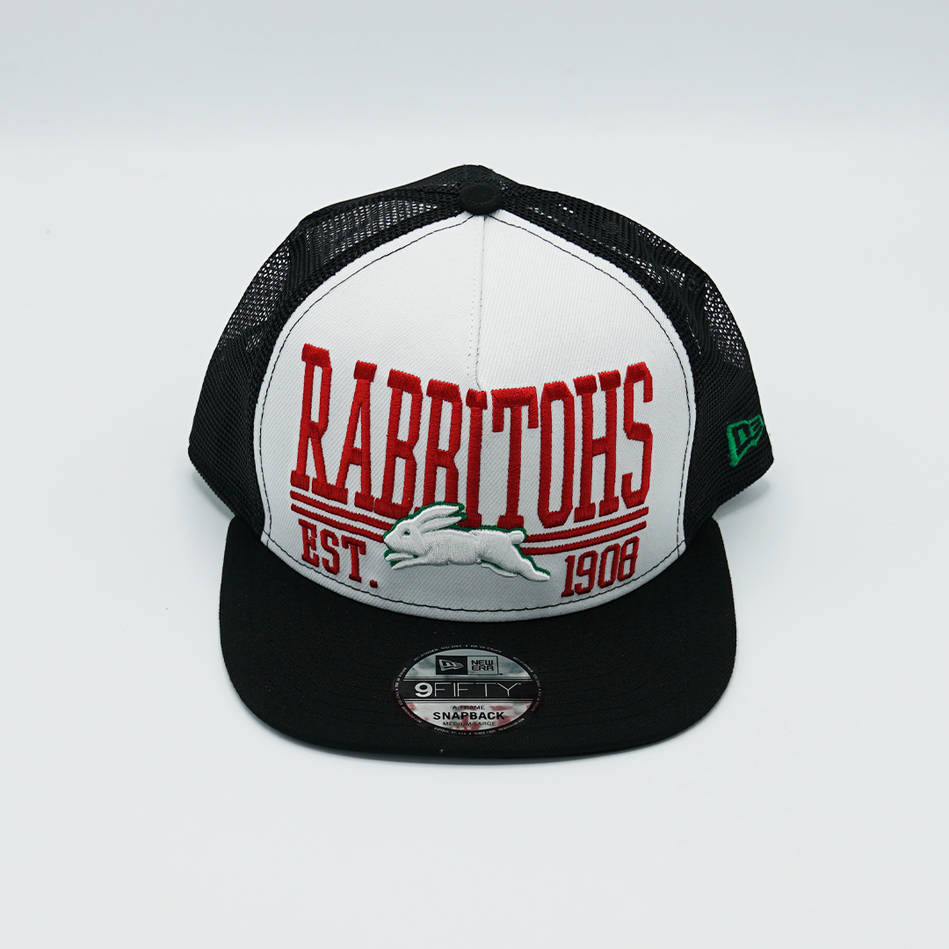 New Era Rabbitohs EST 1908 Trucker Cap0