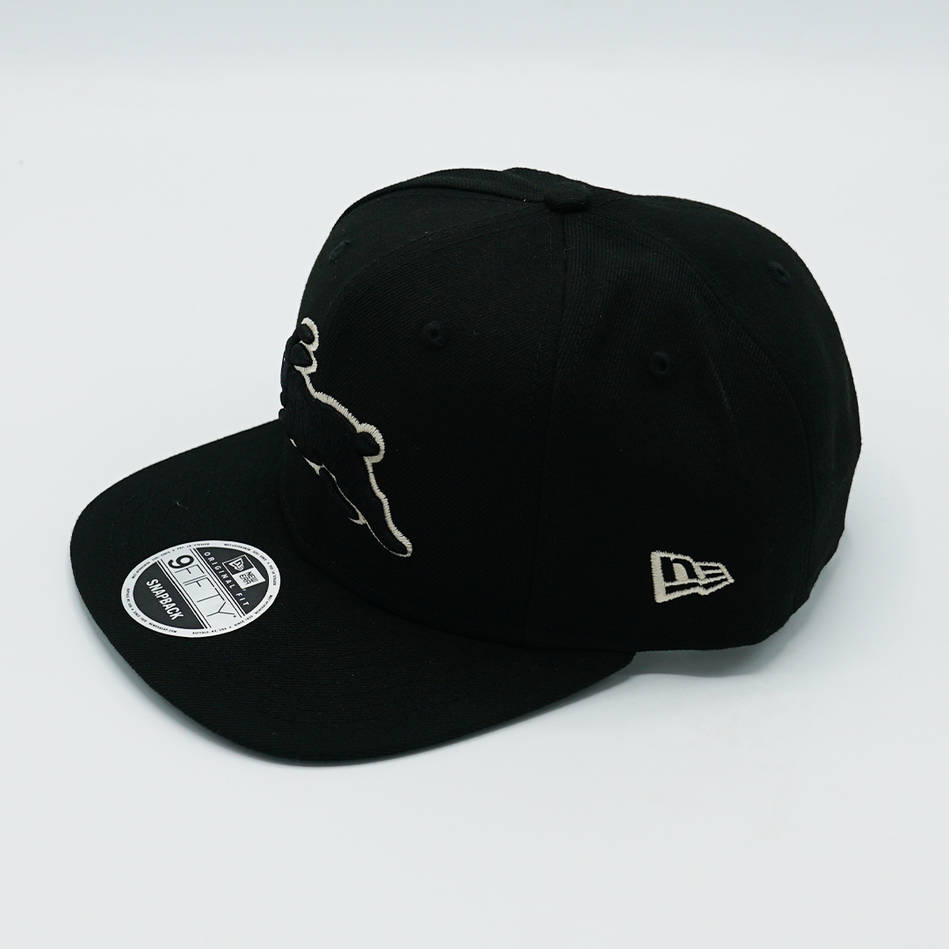 New Era Stone Black Snapback1