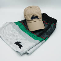 Rabbitohs Mens Cap & Shorts Bundle0