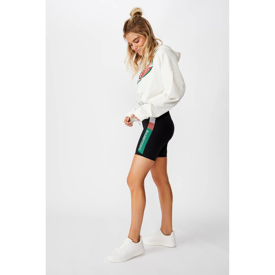Ladies Stripe Bike Shorts1