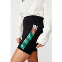 Ladies Stripe Bike Shorts2